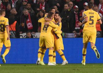 Barcelona made to work for all three points in Prague
