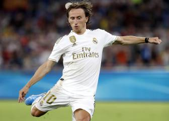 Modric has a fight on his hands for his place in the team