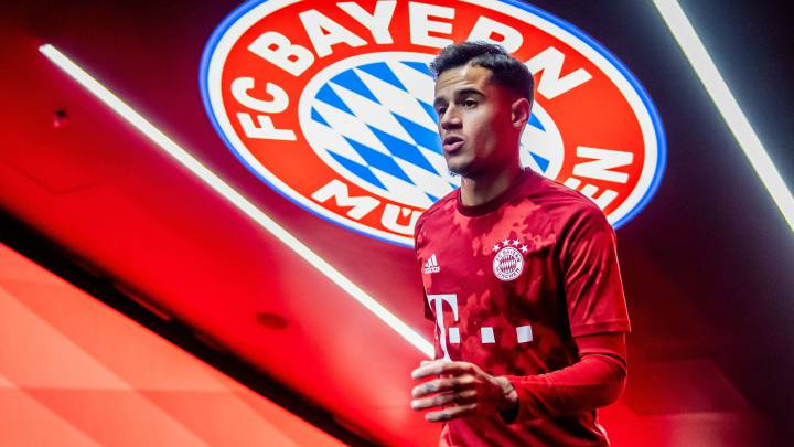 Bayern Munich Bayern Munich Bar a Loanee Coutinho a Stranger In Bavaria AS com