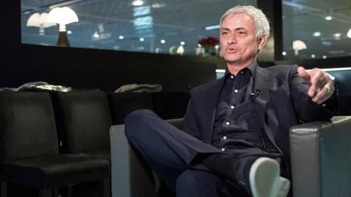 Mourinho, en una reciente entrevista concedida a Sky Sports.