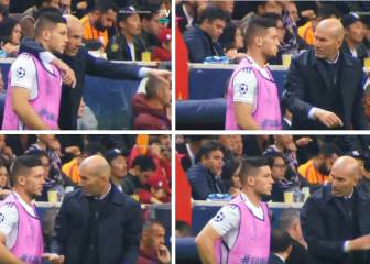 Jovic fails to grasp Zidane's tactical advice