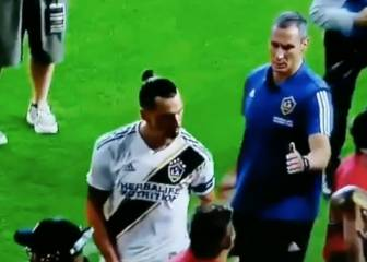 Zlatan bows out of MLS with crotch grabbing gesture
