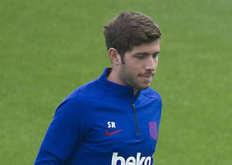 Sergi Roberto back for Barcelona but still no Umtiti