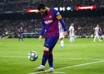 Recent displays see Messi make a late surge for the Ballon d'Or