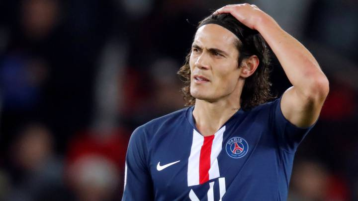 PSG: Cavani considering January transfer as Tuchel opts for Icardi - AS.com
