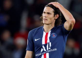 Cavani considering PSG exit as Tuchel opts for Icardi