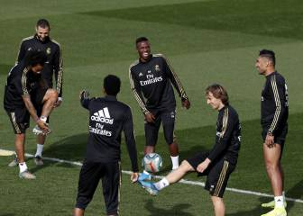 Vinicius returns to Real Madrid squad, Bale and James still out