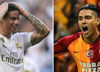 El Madrid-Galatasaray retrata la situación de James y Falcao