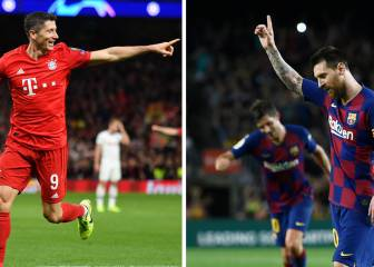 Lewandowski tops Messi as race on for 2019 top scorer
