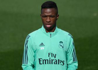 Vinicius misses out on Champions League squad