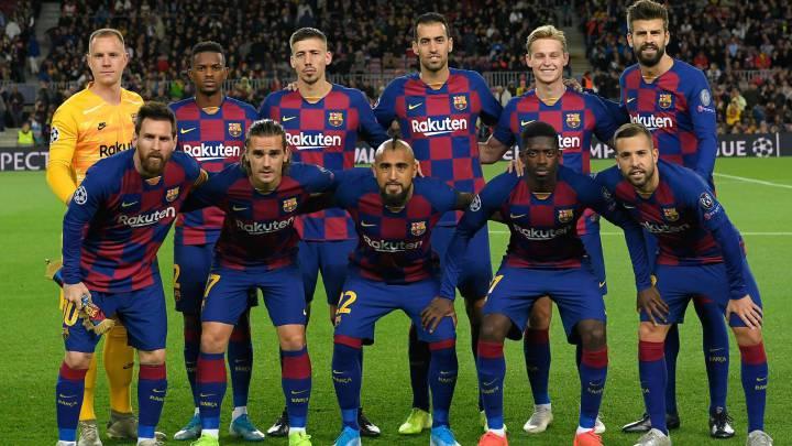 Barcelona player ratings vs Slavia Prague - AS.com