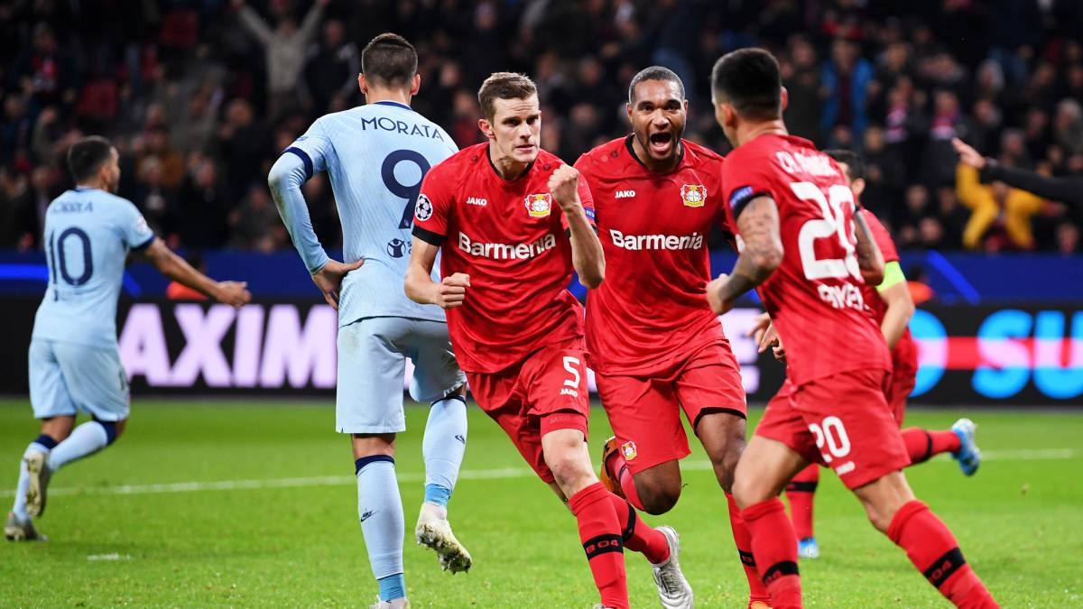 La victoria del Bayern Leverkusen frena la clasificación del aleti a Octavos y alimenta su esperanza (Vídeo) 1573064868_674575_1573076701_noticia_normal
