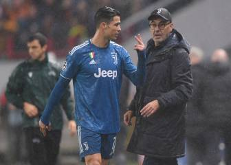 Cristiano Ronaldo upset after substitution