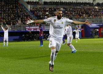 Benzema leads Cristiano in goal participation