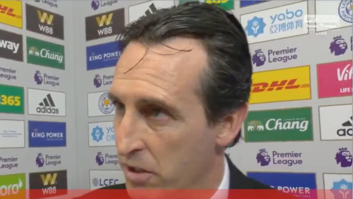 Emery pide 'clemencia' en público en su peor momento con Luis Enrique sonando ya para el Arsenal - AS