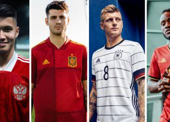 Spain, Germany, Italy and Belgium reveal Euro 2020 strips