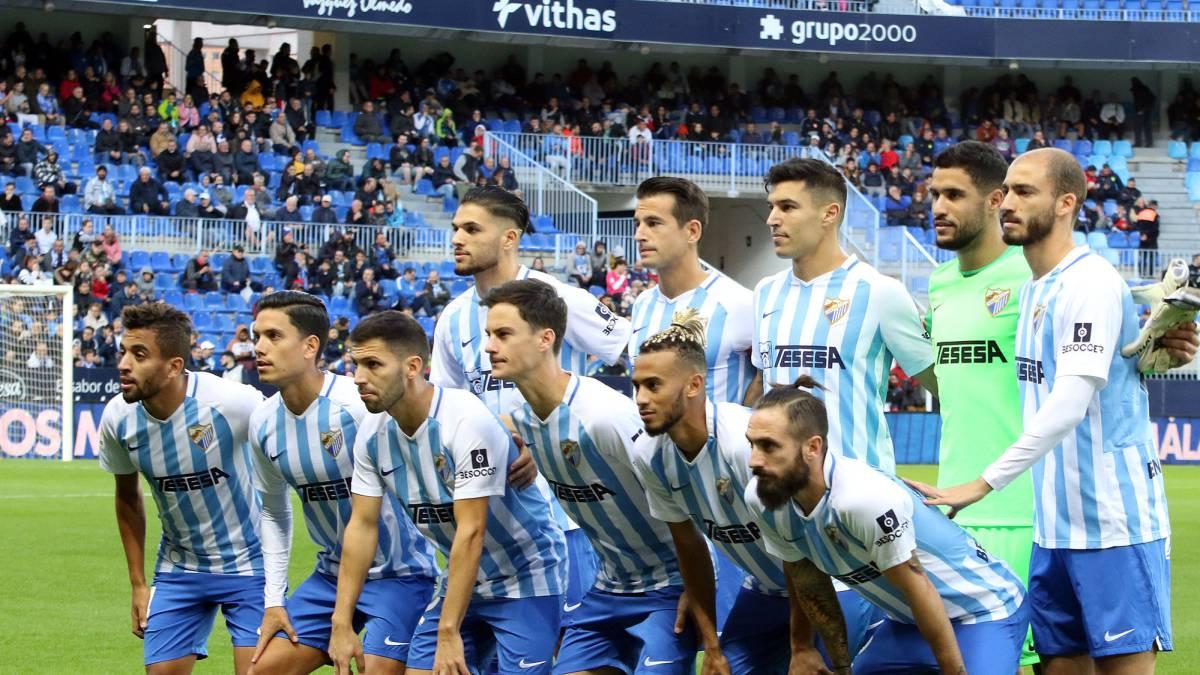 El Málaga, con sólo nueve profesionales para el partido ante el Alcorcón - AS