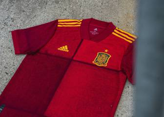 Spain unveil Euro 2020 shirt