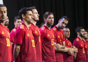 Spain unveil new shirt for Euro 2020