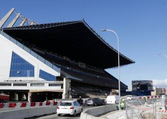 M-30 motorway diverted past half-demolished Calderón