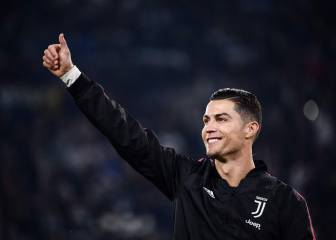 Juve dressing room accept Cristiano gesture