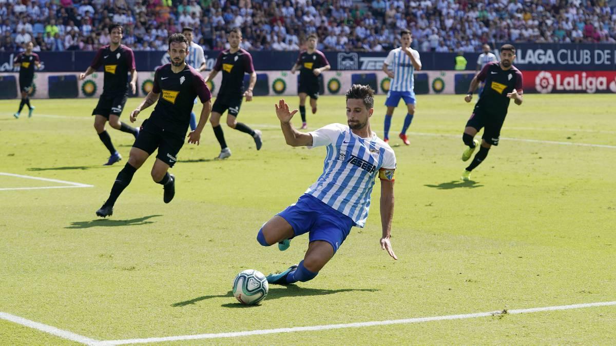 El Málaga confirma la lesión muscular de Adrián - AS