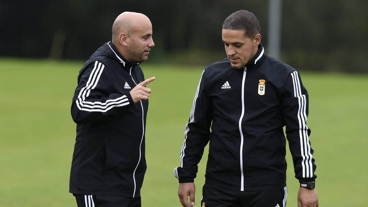 El Oviedo quiere dominar el centro del campo en el derbi - AS