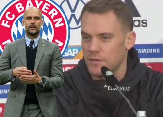 Neuer on the chances of Guardiola returning to Bayern