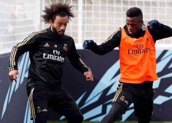 Marcelo regains full fitness