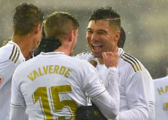 Madrid find the perfect midfield match in Casemiro and Valverde