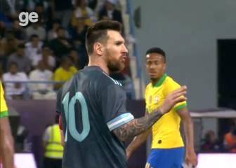 Messi tells Tite to shut up during Argentina win over Brazil