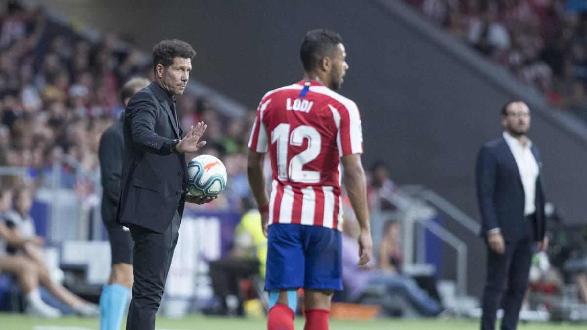 "Lodi: ""He evolucionado mucho gracias a Simeone"" - AS"