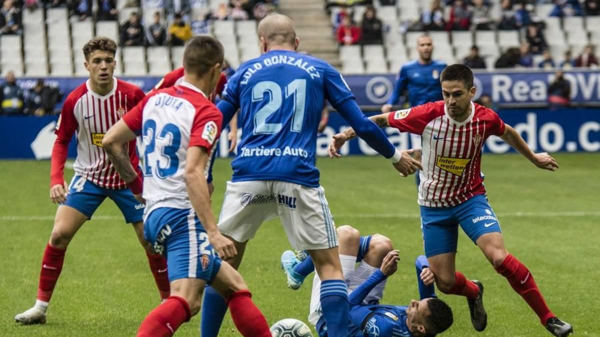 Oviedo - Sporting en directo: derbi asturiano de LaLiga SmartBank - AS