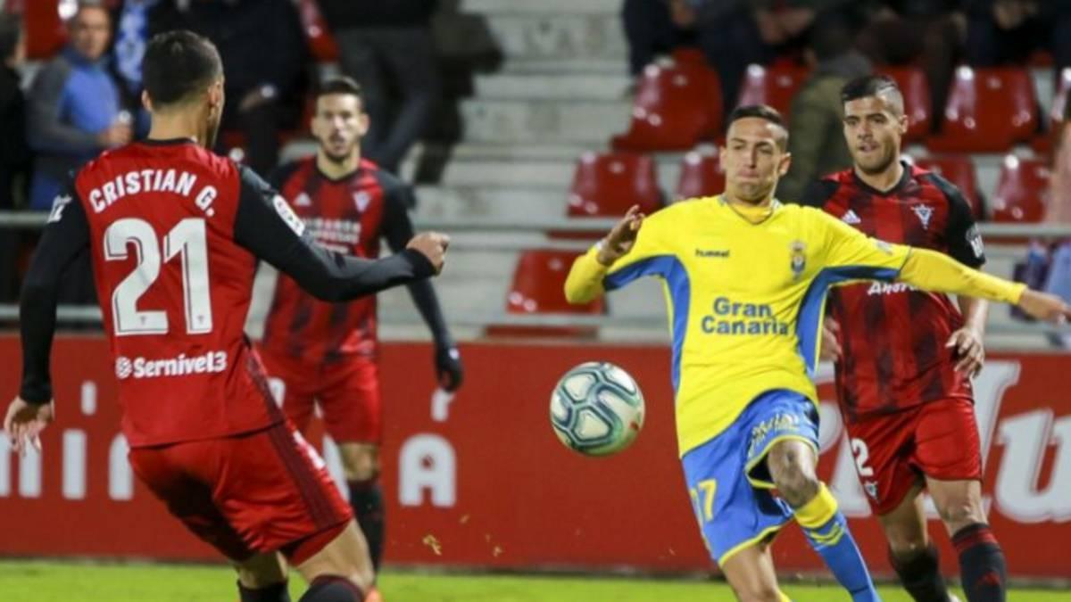 Mirandés 2-1 Las Palmas: goles, resumen y resultado del partido - AS