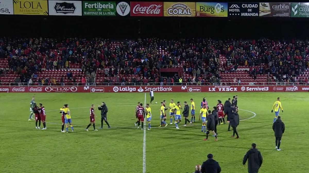 Resumen y goles del Mirandés vs. Las Palmas de la Liga Smartbank - AS