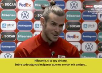 Gareth Bale responds to 'Wales, golf, Madrid' talk
