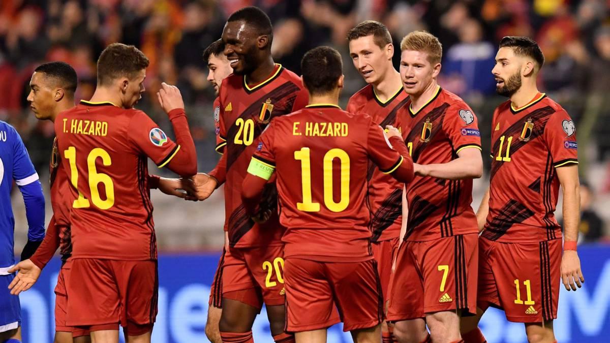Bélgica 6 Chipre 1 - Eliminatorias Eurocopa 2020 - Vídeo 1574190845_629786_1574195730_noticia_normal