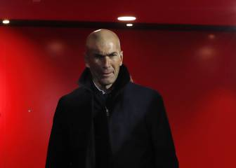 Zidane not one for second chances