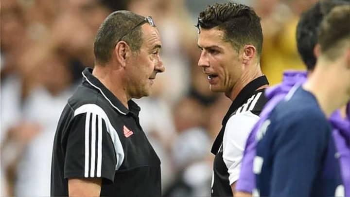 Cristiano Ronaldo set for 'clear the air' talks with Sarri - AS.com