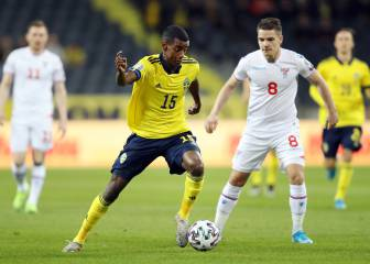 Alexander Isak, recently on Real Madrid's radar