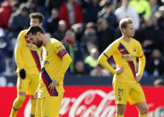 Barça's half-time team talk suggests worrying signs
