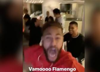 Neymar loses the plot during Gabigol miracle ending