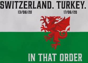 Wales announce Euro rivals 'In that order'