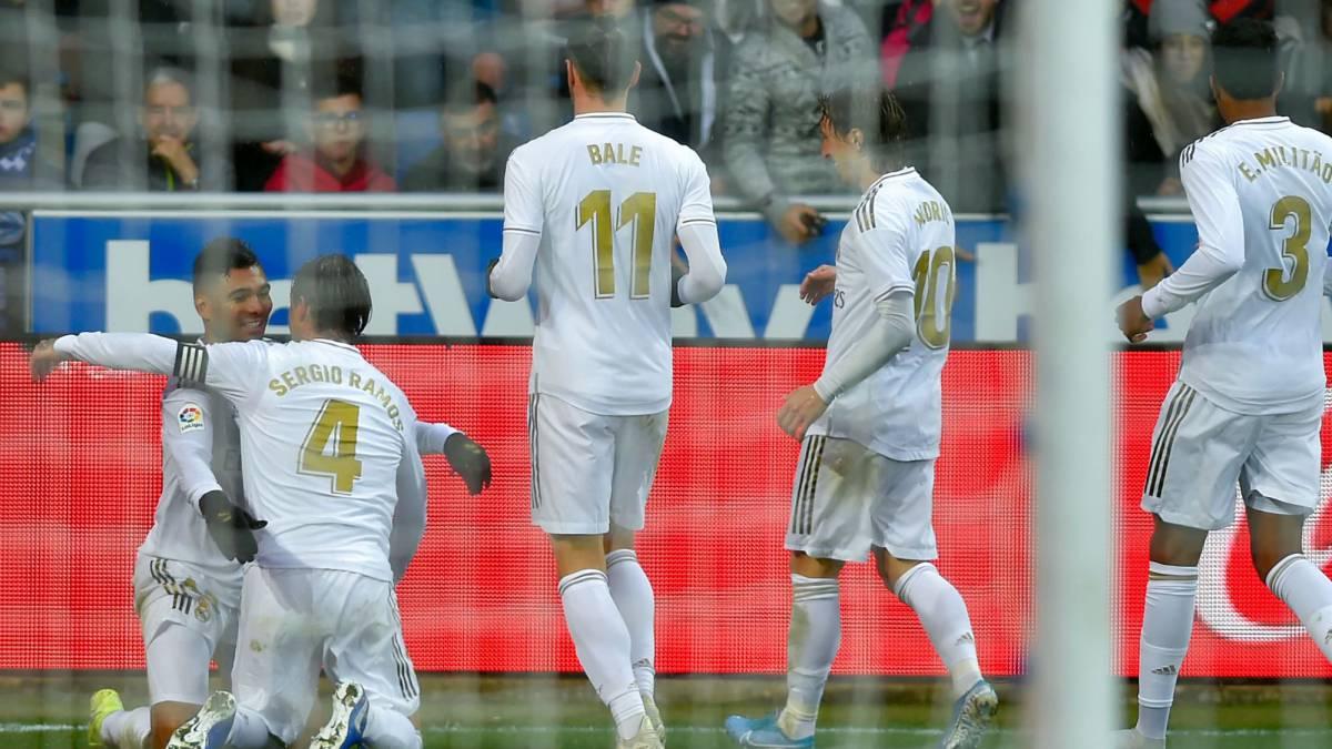 Resultado de imagen para Real Madrid laliga remates