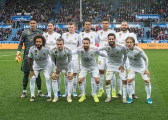 Real Madrid players ratings vs Alavés