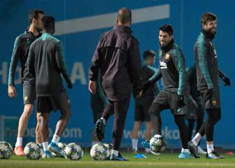 Barcelona squad for visit to Atlético Madrid