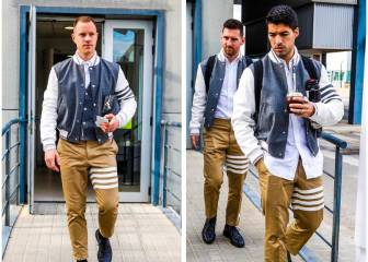 Barcelona travel to Madrid in, er, eye-catching club clobber