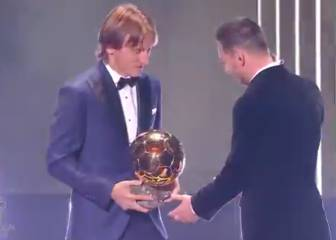 Modric on Messi's six Ballons d'Or: