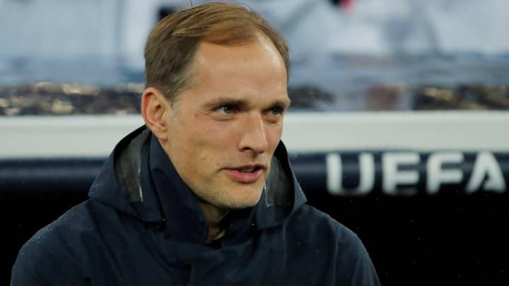 El entrenador del PSG, Tomas Tuchel, durante un partido.