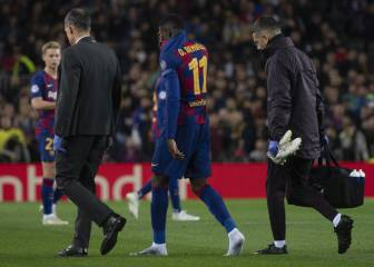 Barcelona concerned with trend of recurring injury